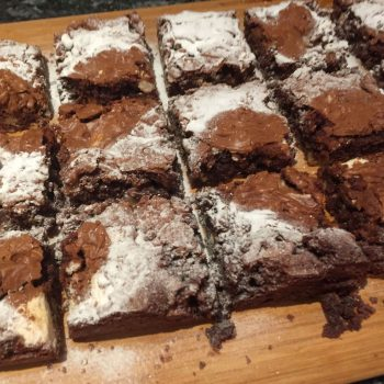 Brownies for valentine
