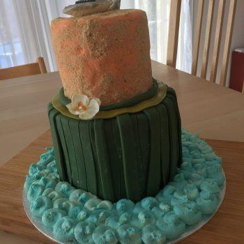 Heart of Te Fiti cake